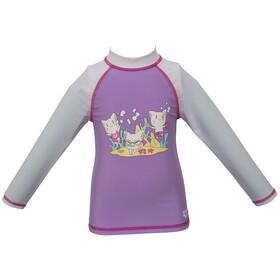arena Friends LS UV Tee Kids lilac/white